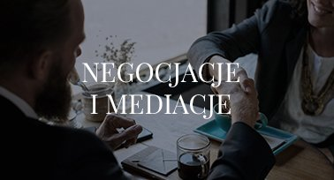 negocjacje i mediacje wyszków